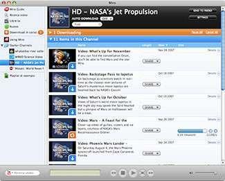 Una schermata del programma