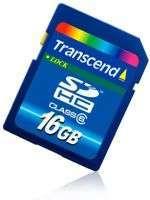 SDHC 16 GB Class 6 di Transcend
