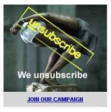 Il banner della campagna