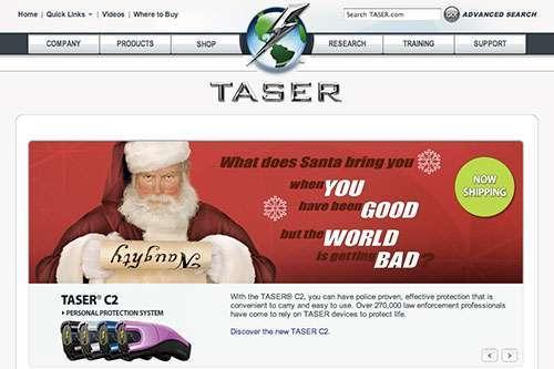 Lo spot natalizio Taser