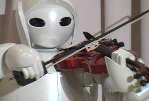 Il robot violinista