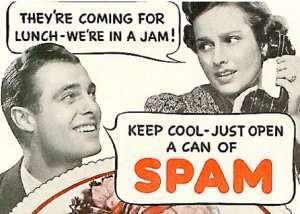 SPAM, la carne in scatola