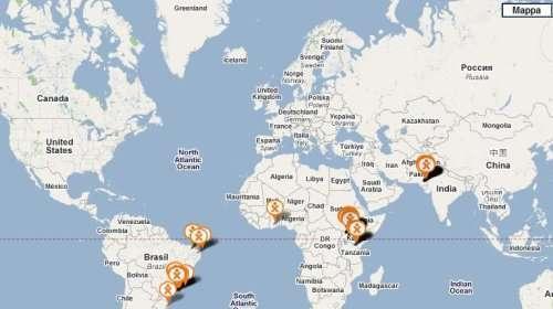 Le storie localizzate sulla Google Map