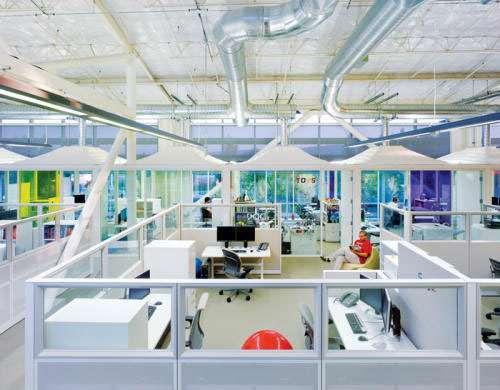 Gli uffici di Google