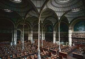 la biblioteca nazionale parigina