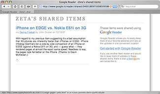 Le nuove funzionalità sociali di Google Reader