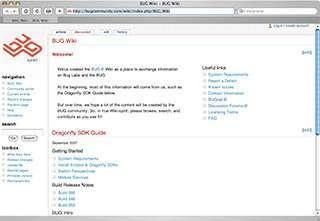 Il BUG Wiki di BUG Labs