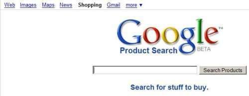 Google Shopping e la barra di navigazione