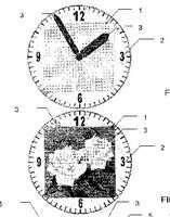 Sony Ericsson Clock Display