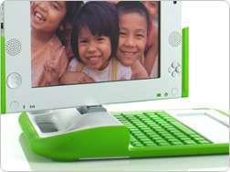 Una pubblicità di OLPC