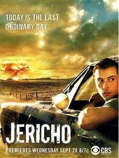 La locandina della prima serie di Jericho