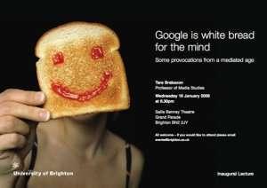 Contro l'Ateneo di Google