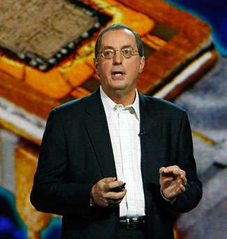 Paul Otellini, CEO di Intel, interviene al CES 2008