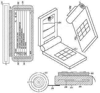 Il cellulare arrotolabile di Motorola