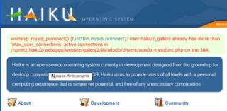 Database del sito saturo di connessioni