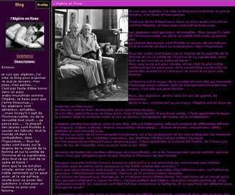 Una home page algerina