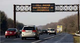 avviso autostradale