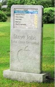 La lapide di Steve?