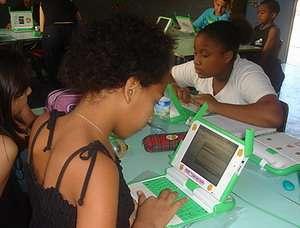 studenti con il portatile