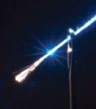 Silicio + fibra ottica = futuro, una fibra illuminata