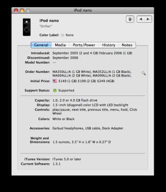 Giappone, vecchi iPod sotto inchiesta
