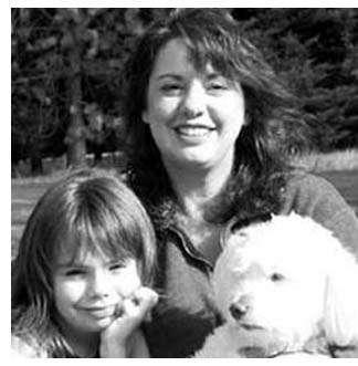 Tanya Andersen con la figlia