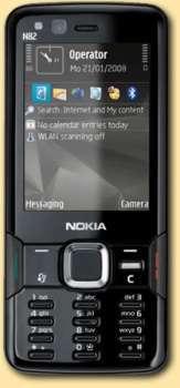 Il Nokia N82 si veste di nero