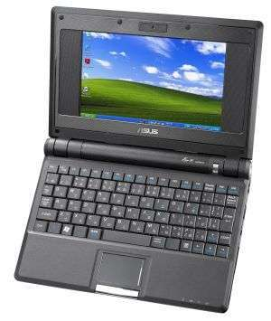 È ufficiale: Eee PC avrà il touchscreen - Asus Eee PC 900
