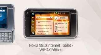 Nokia N810, in arrivo la WiMAX Edition