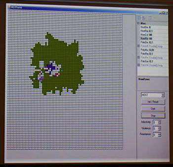 Una schermata dell'HGTForm, il software sviluppato al CoSBI