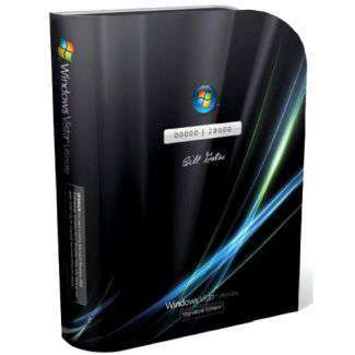 Windows Vista Ultimate, Bill Gates special edition