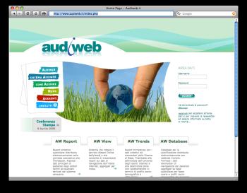 Il sito di Audiweb