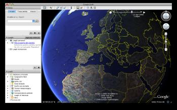 La nuova visione crepuscolare di Google Earth