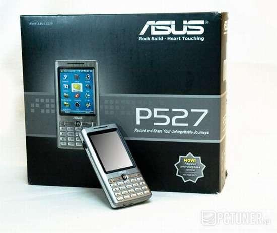 Asus P527: quando il cellulare incontra il PDA
