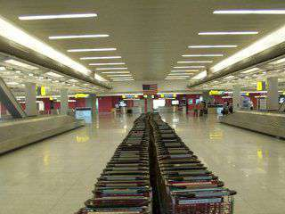 La dogana dell'aeroporto JFK