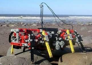 Il robot costruito coi Lego