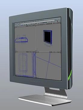 Il possibile aspetto dello schermo di PureDepth
