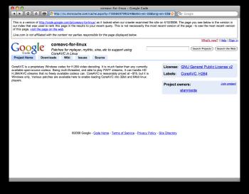 La homepage bloccata