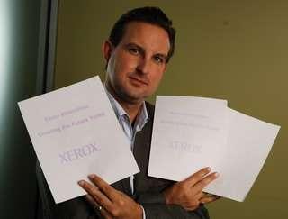 la carta di Xerox