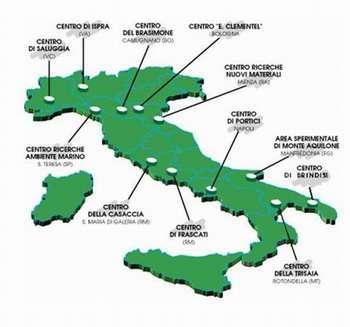i centri ENEA in Italia
