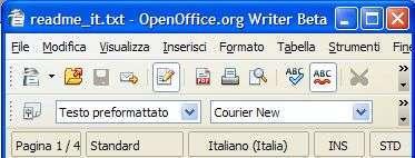 OpenOffice Write 3.0