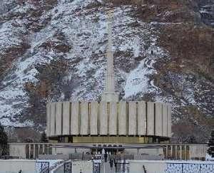 Un luogo di culto dei Mormoni