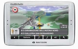 Navigon 8110 ViaMichelin
