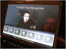 Face Recognition in azione