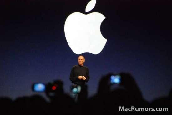 Steve Jobs sul palco