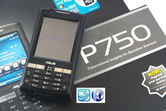 Asus P750: il PDA senza compromessi