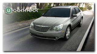 La Sebring di Chrysler, dotata di UConnect