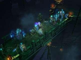 Un combattimento di Diablo III