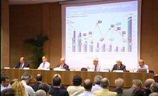 il convegno di presentazione del Rapporto Assinform 2008